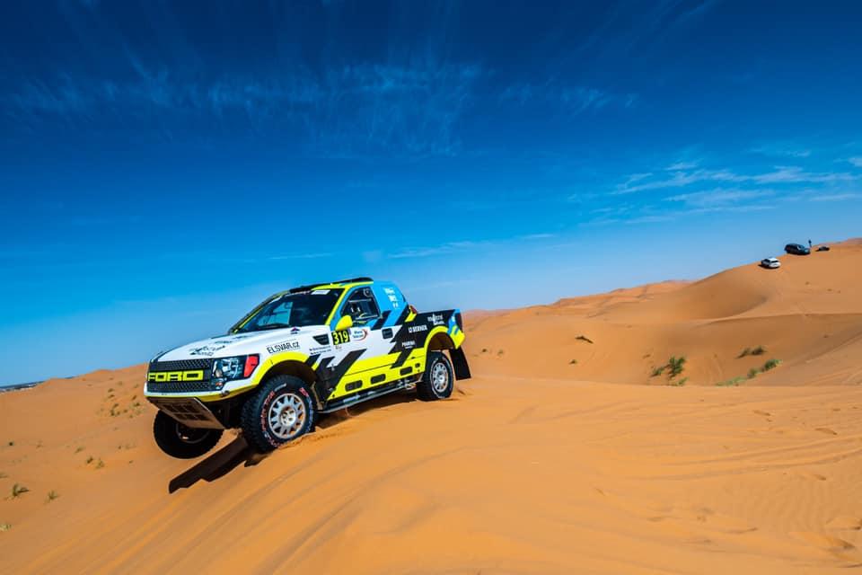 Boris Vaculík, Rallye du Maroc 2019