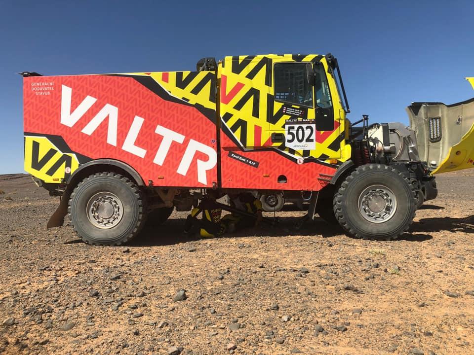 Jaroslav Valtr, Rallye du Maroc 2019