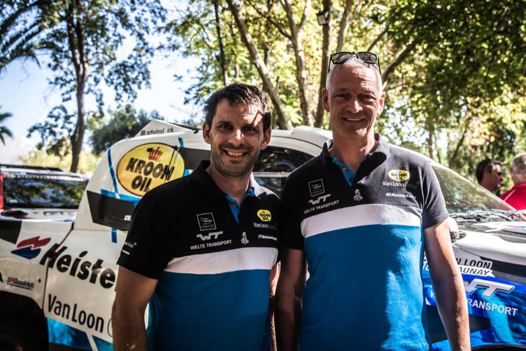 Delaunay & van Loon, Rallye du Maroc 2019