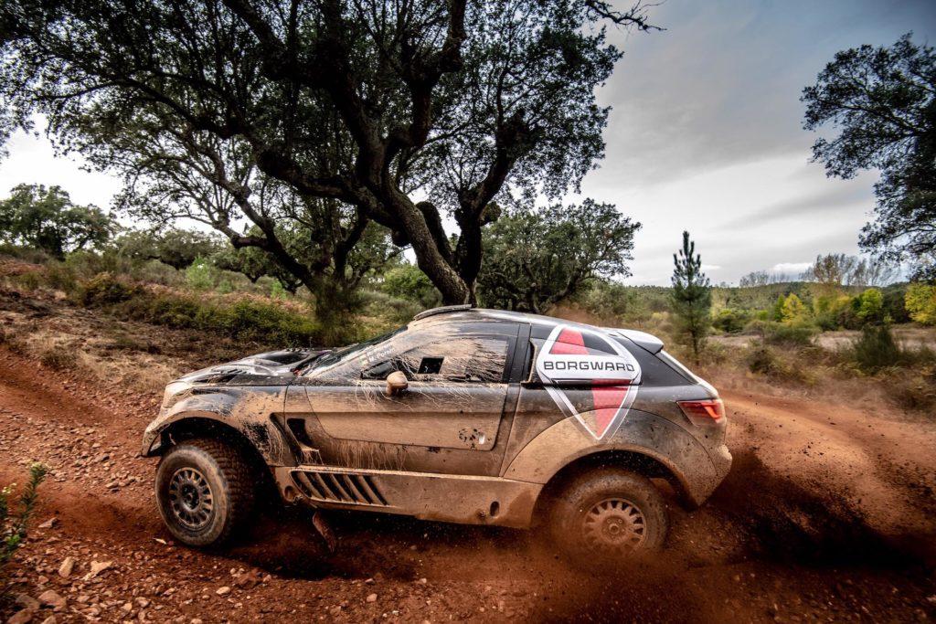 Ricardo Porém, test před Baja Portalegre 2019