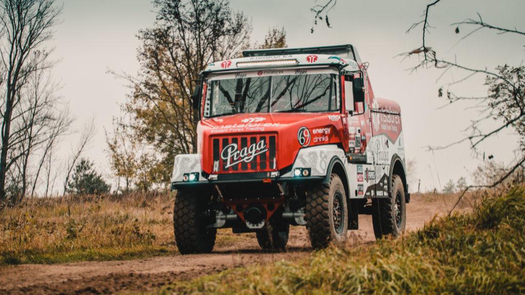 Praga V4S DKR