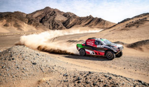 Yazeed Al-Rajhi, Ula-Neom Cross-Country Rally 2019