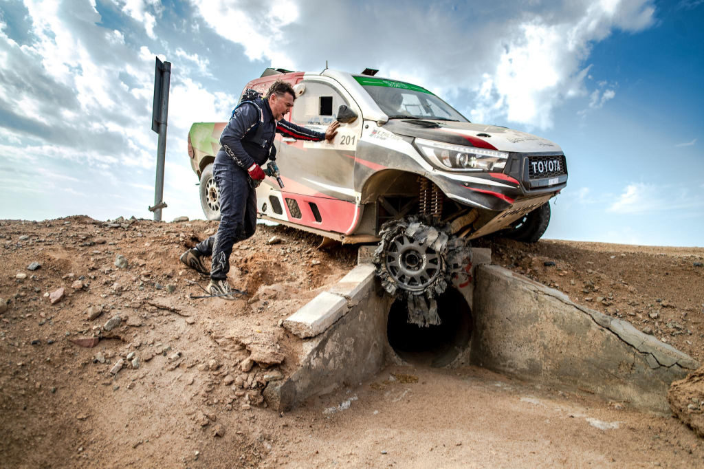 Yazeed Al-Rajhi, Ula-Neom Cross-Country Rally 2019