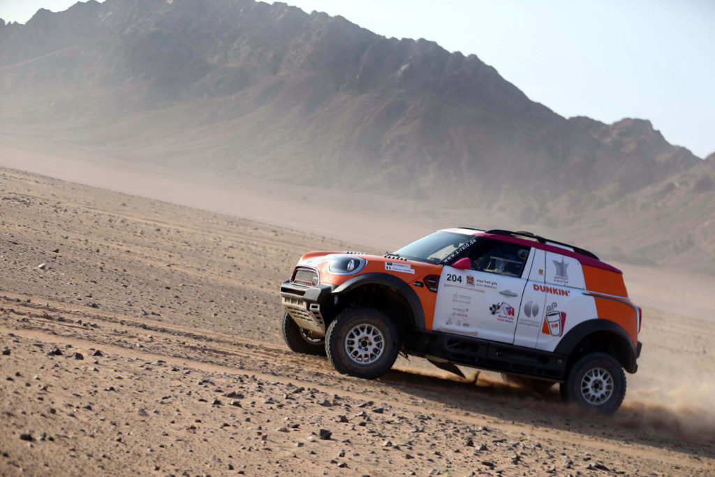 Yasir Seaidan, Ula-Neom Cross-Country Rally 2019