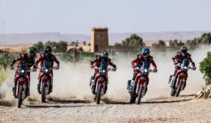Monster Energy Honda Team před Dakarem 2020