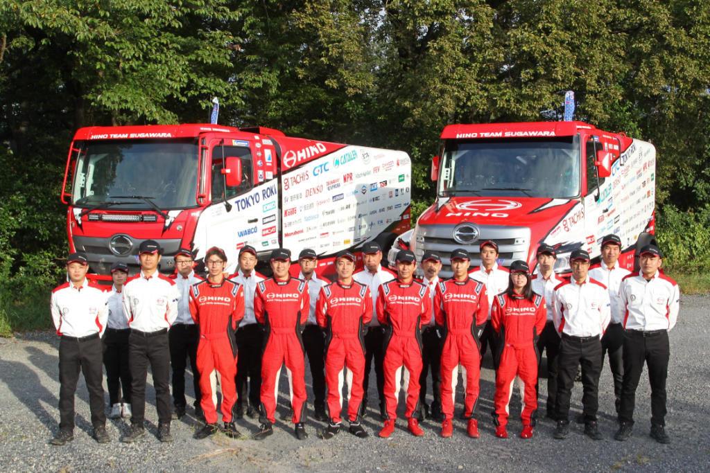 Hino Team pro Dakar 2020