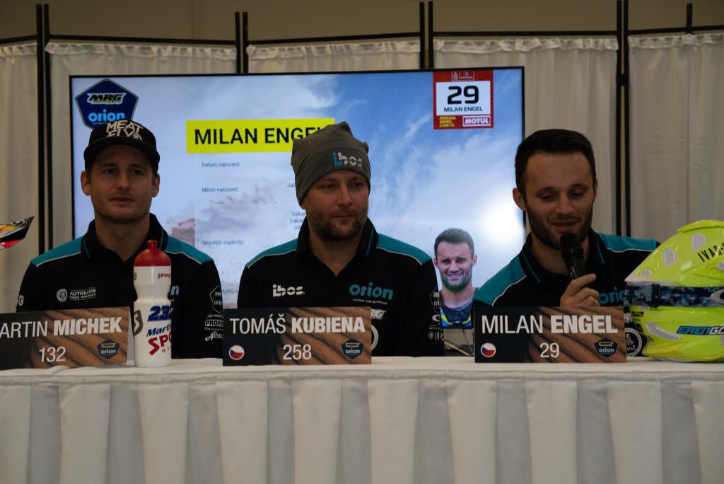 Jezdci MRG pro Dakar 2020