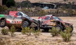 Yazeed Al-Rajhi & Carlos Sainz, Sharqiyah Baja 2019