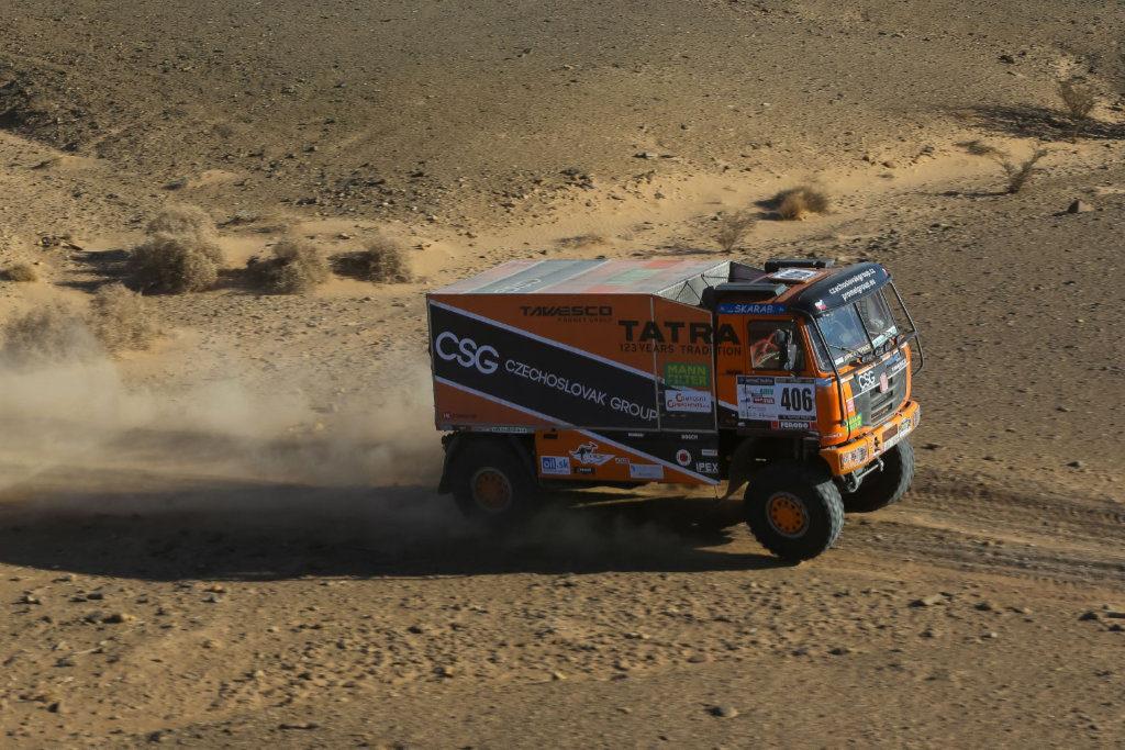 Tomáš Tomeček, Africa Race 2020