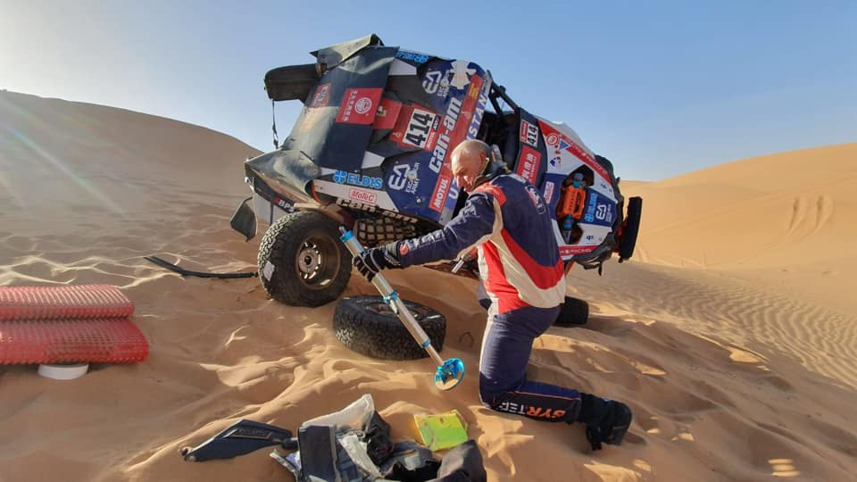 Josef Macháček, Dakar 2020