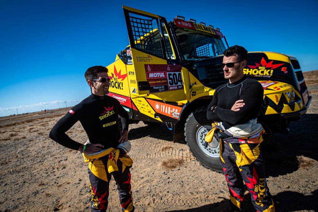 Martin Macík & František Tomášek, Dakar 2020