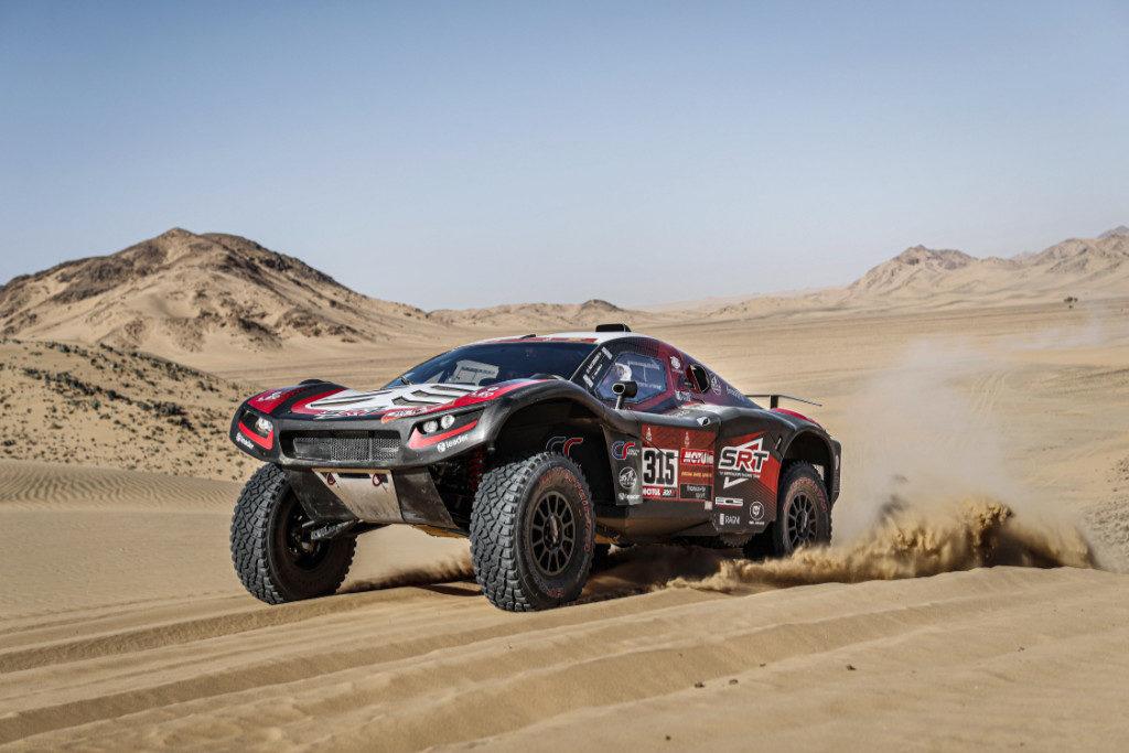 Mathieu Serradori, Dakar 2020