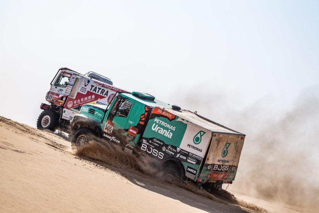 Van Kasteren & Šoltys, Dakar 2020