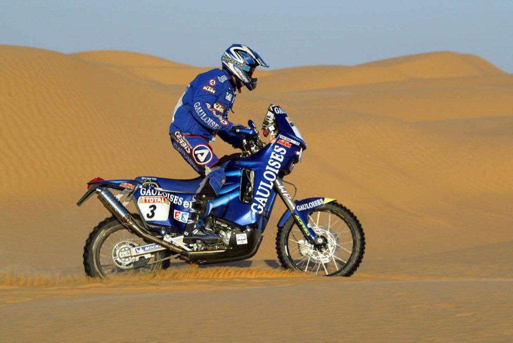 Richard Sainct, Dakar 2003
