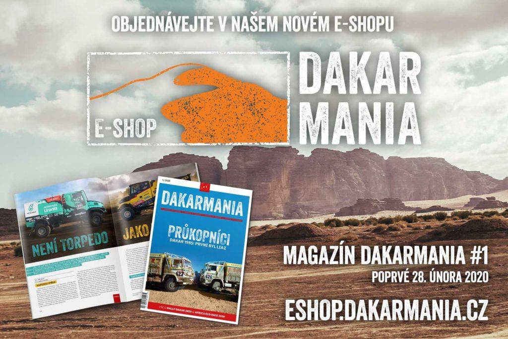 E-shop DAKARMANIA