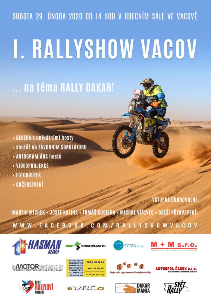 Rallyshow Vacov 2020