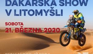 Dakarská show Litomyšl 2020