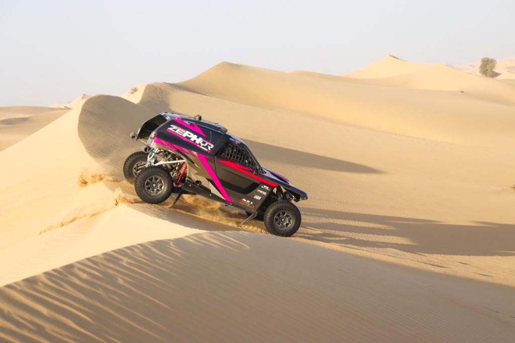 Kris Meeke, test Dubaj 2020