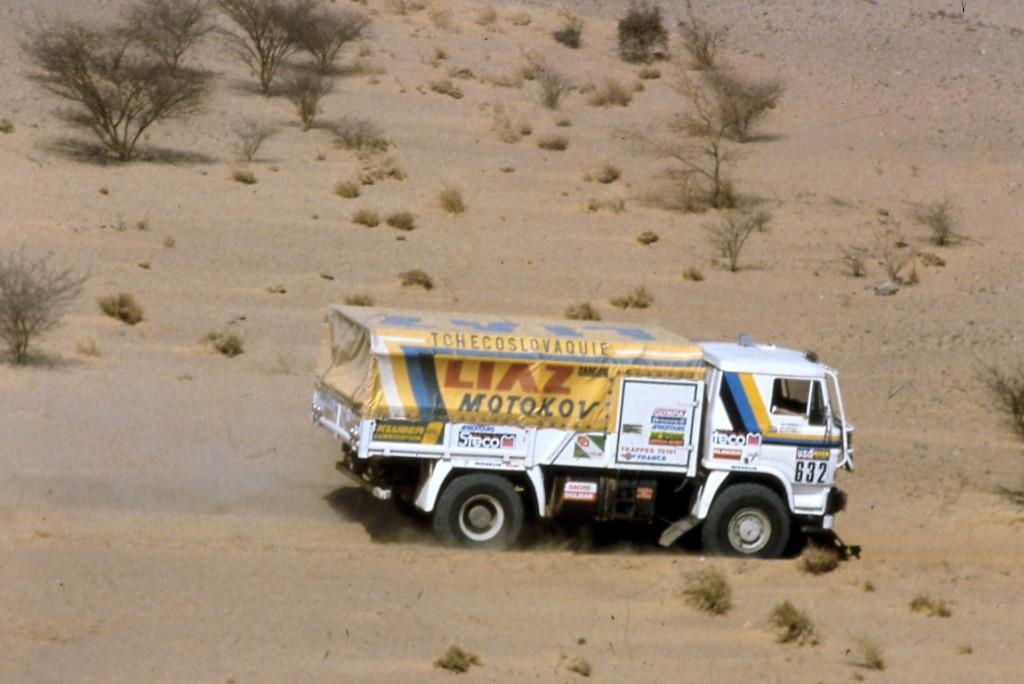Liaz 632, Dakar 1986