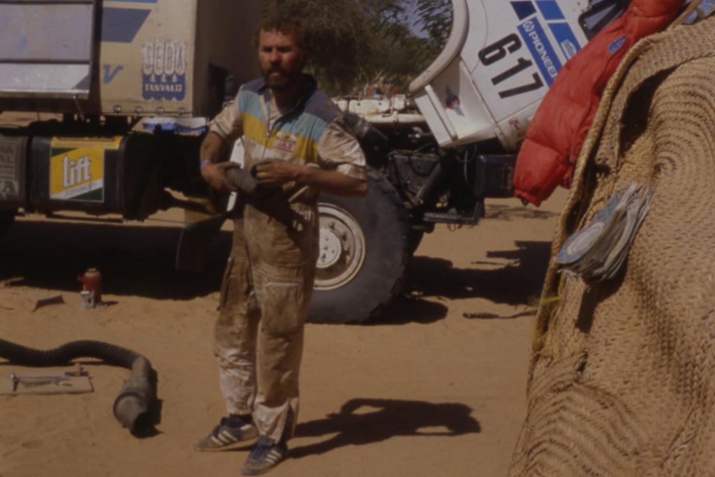 Jiří Moskal, Dakar 1988