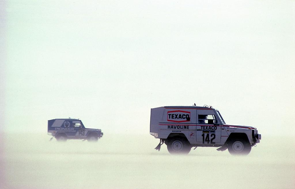 Jacky Ickx, Dakar 1983