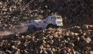 Jan de Rooy, Dakar 1987