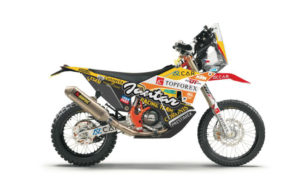 KTM 450 Rally Replica, Jantar Team