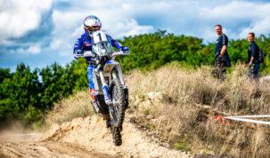Maciej Giemza, shakedown Baja Poland 2020