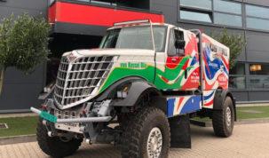 Scania Lonestar DKR3, Dakarspeed
