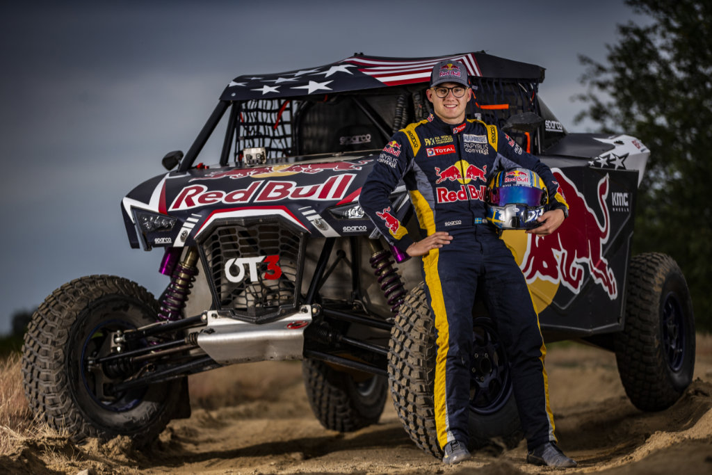 Kevin Hansen, Red Bull Off-Road Junior Team