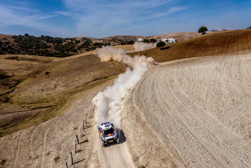 Carlos Sainz, Andalucía Rally 2020