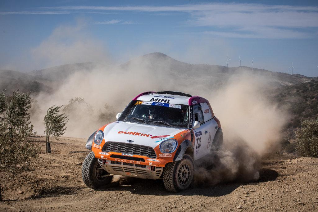 Yasir Seaidan, Andalucía Rally 2020