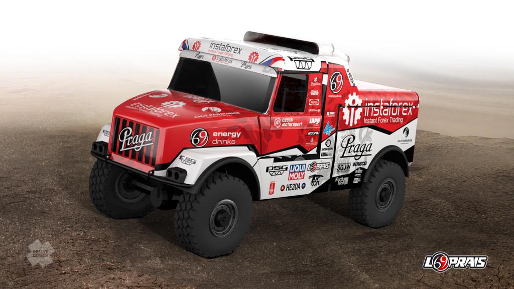 Design Dakar 2021, Loprais
