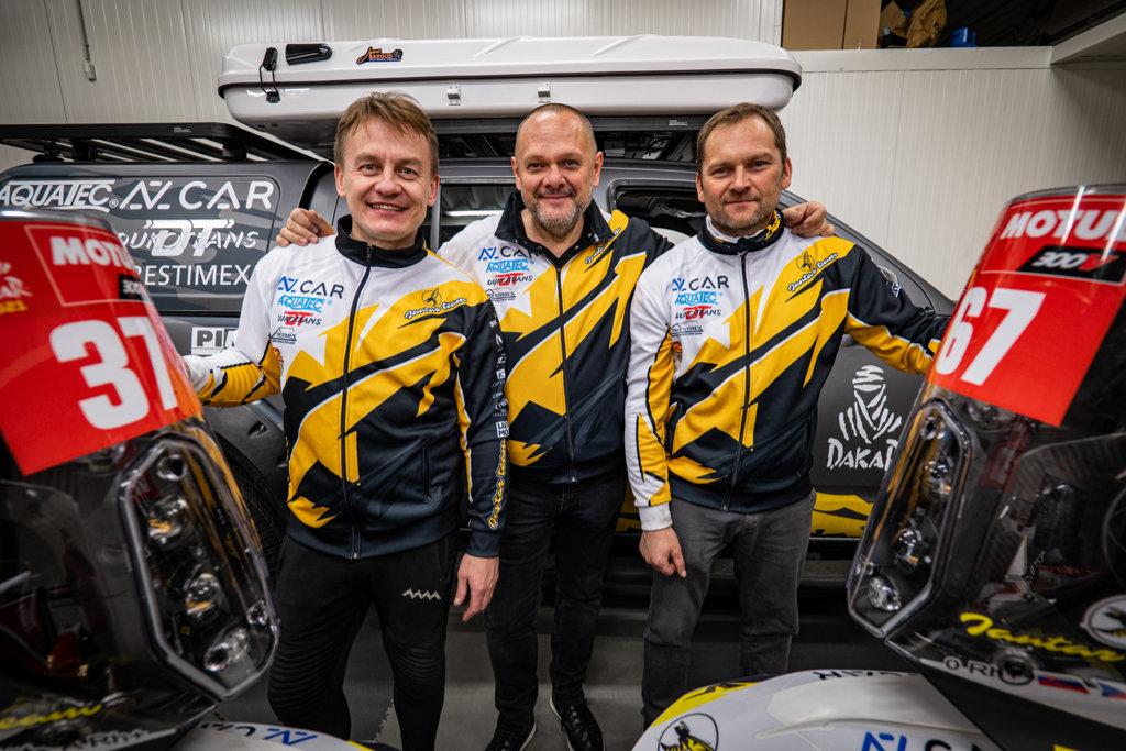 Jantar Team před Rally Dakar 2021