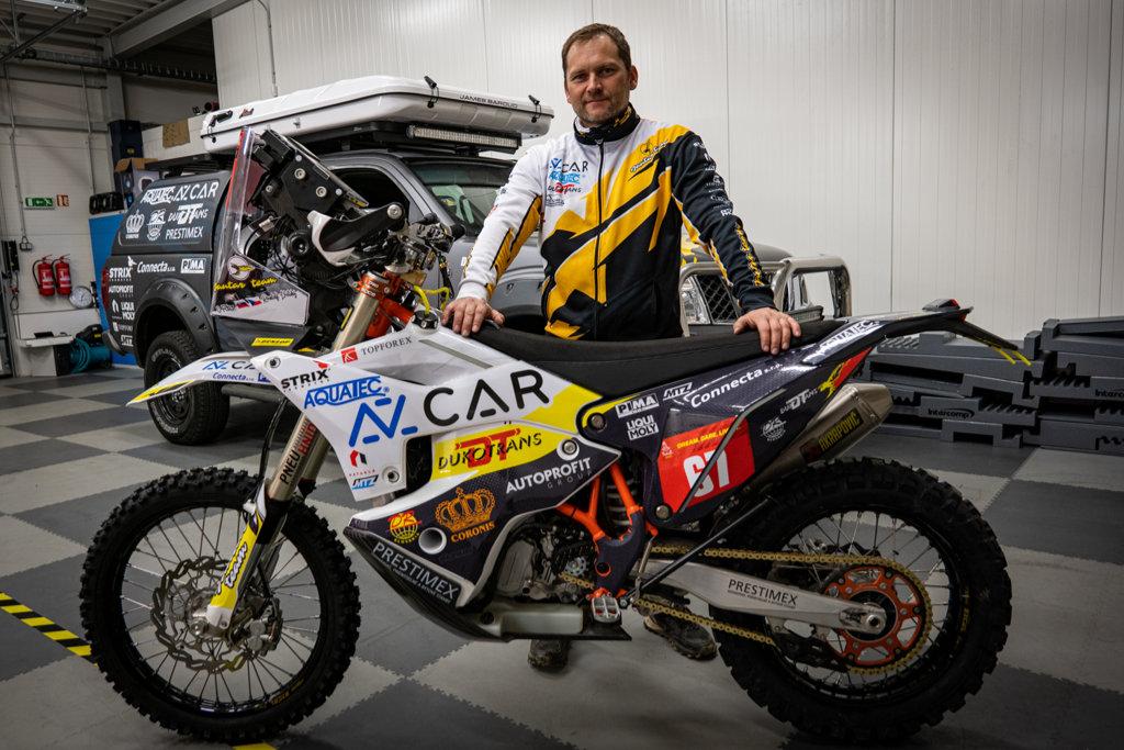 Rudolf Lhotský před Rally Dakar 2021