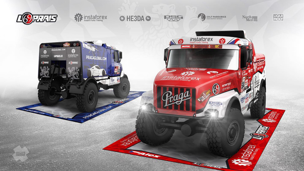 Loprais Team, design Dakar 2021