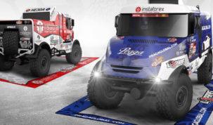 Loprais Team, design Dakar 2021