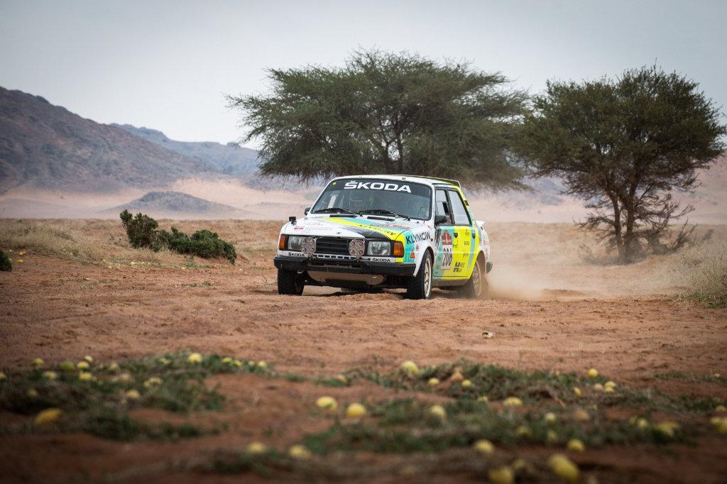 Ondřej Klymčiw, Dakar Classic 2021