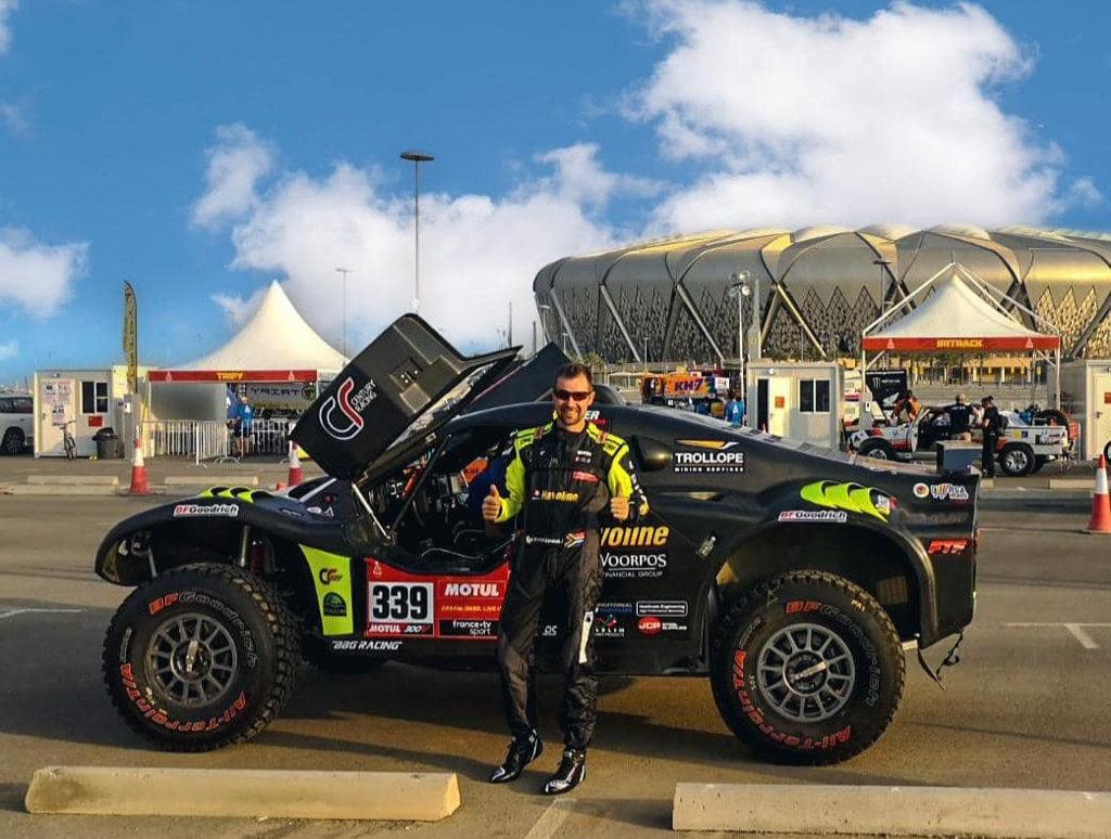 Brian Baragwanath, Dakar 2021