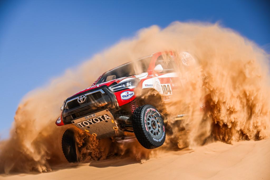 Giniel de Villiers, Dakar 2021