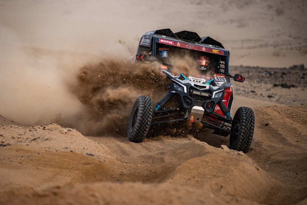 Tomáš Enge, shakedown Dakar 2021