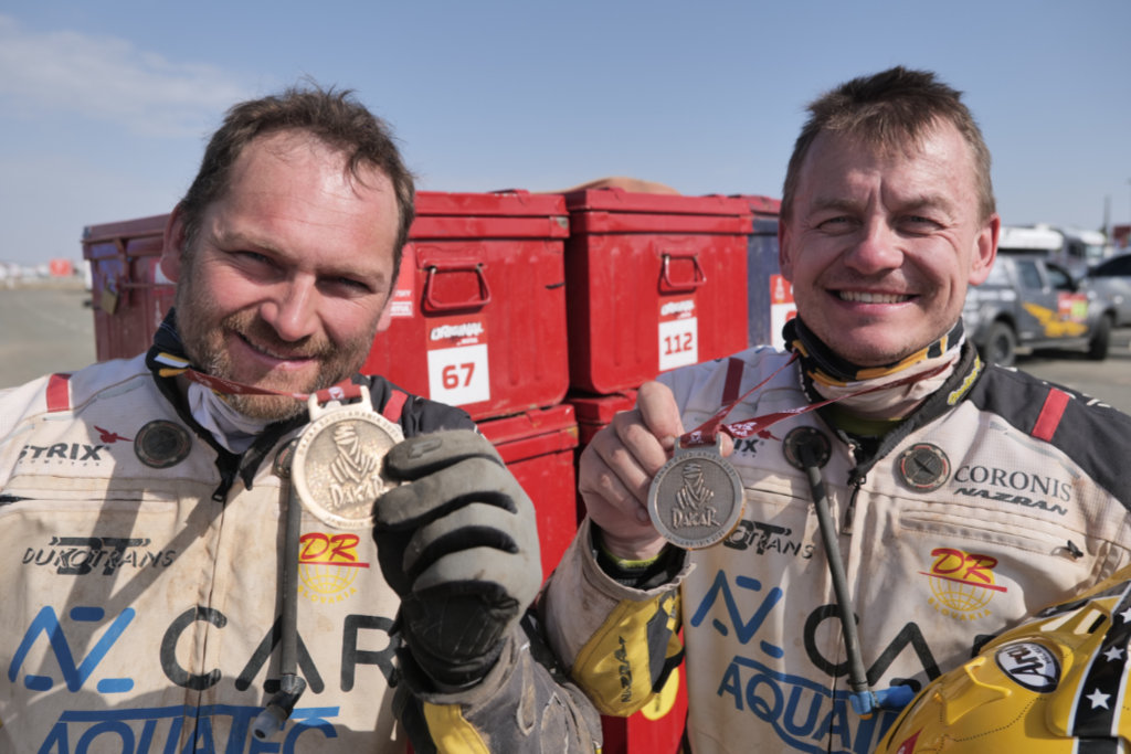 Rudolf Lhotský & David Pabiška, Dakar 2021