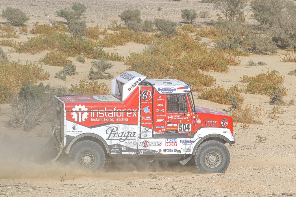 Aleš Loprais, Dakar 2021
