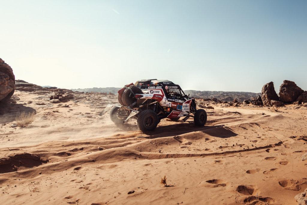 Josef Macháček, Dakar 2021