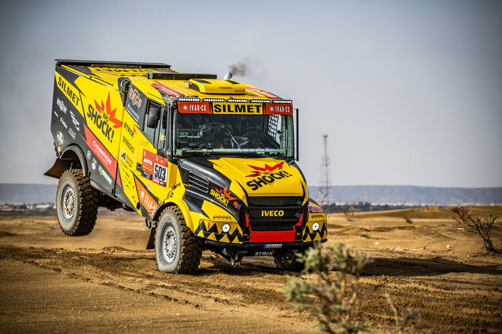 Martin Macík, shakedown Dakar 2021