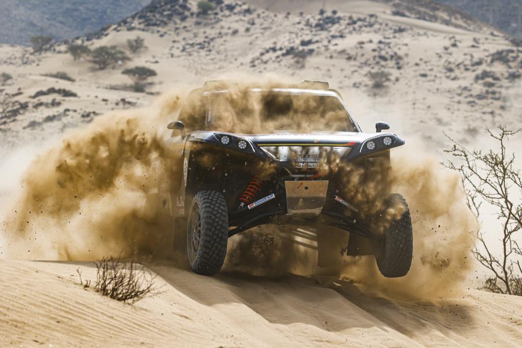 Kris Meeke, shakedown Dakar 2021