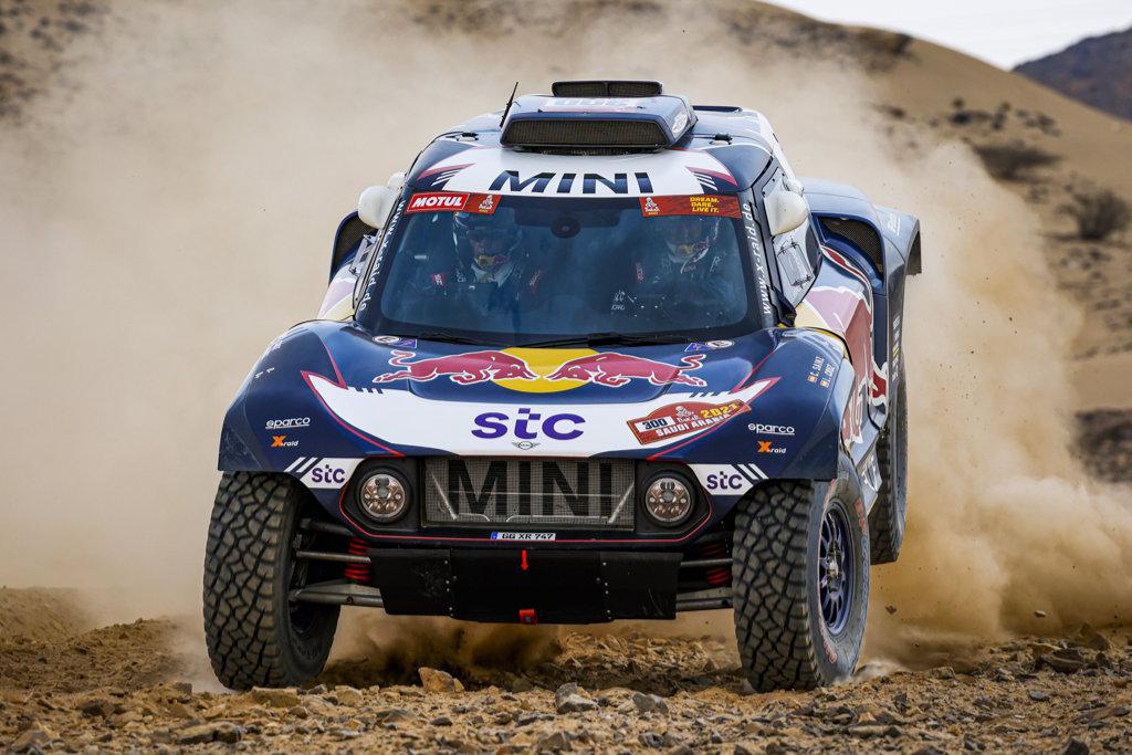 Carlos Sainz, shakedown Dakar 2021