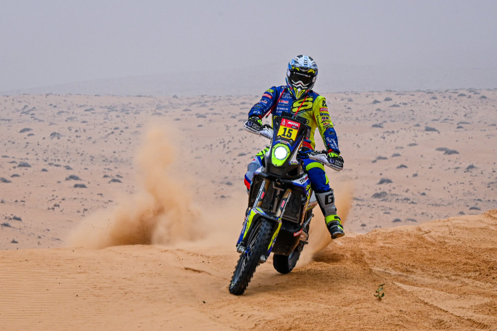 Lorenzo Santolino, Dakar 2021