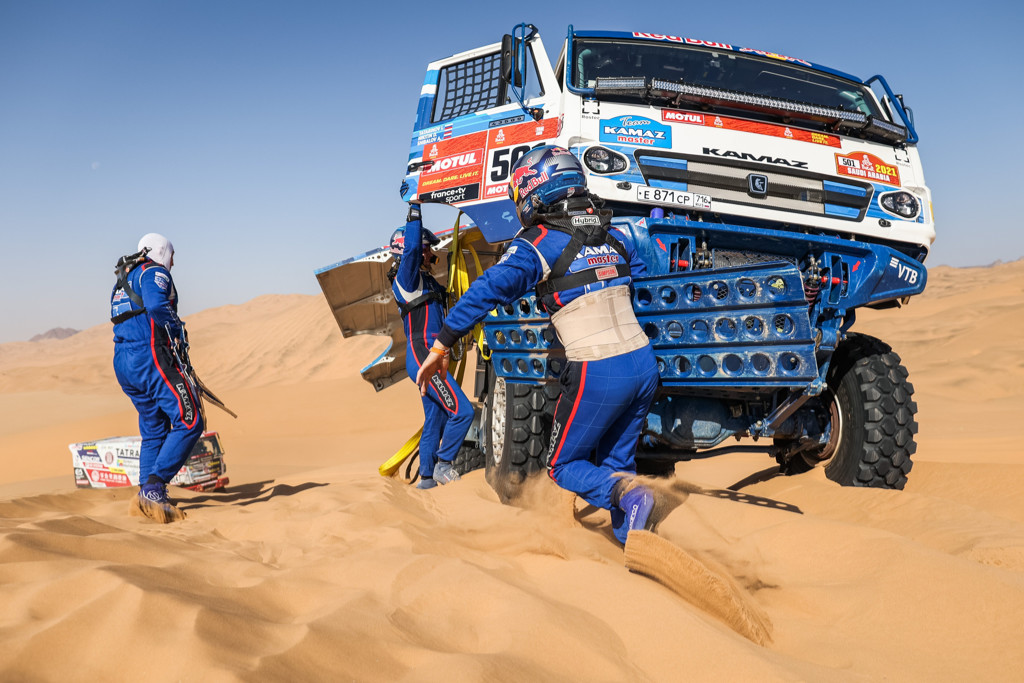 Anton Šibalov, Dakar 2021