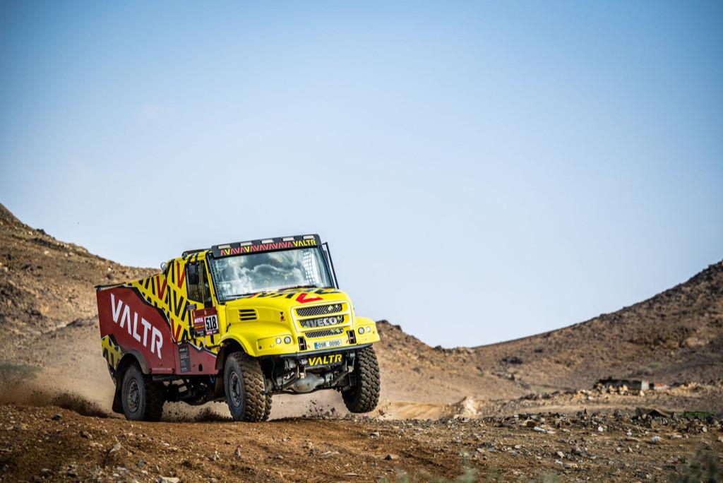 Jaroslav Valtr, Dakar 2021